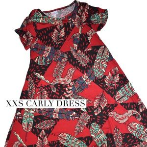 XXS hi/lo Carly dress
